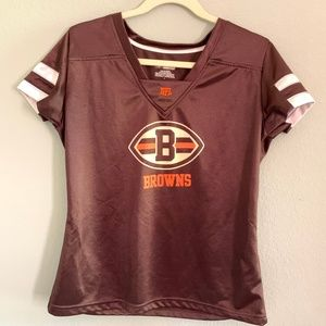 🔥🔥 CLEVELAND BROWNS NFL WOMENS FOOTBALL JERSEY